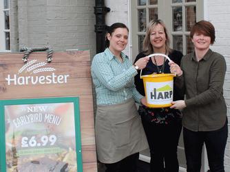 Tarpot Harvester raise over £220 for HARP!