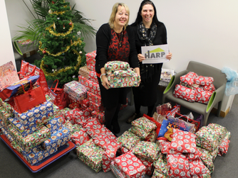 Overwhelming gift donations received for local people who are homeless this Christmas time