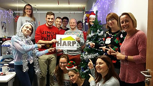 University of Essex raise money for HARP Southend homeless charity Christmas jumper day