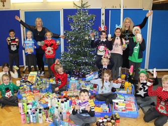 Little Elves help those that are homeless this Christmas
