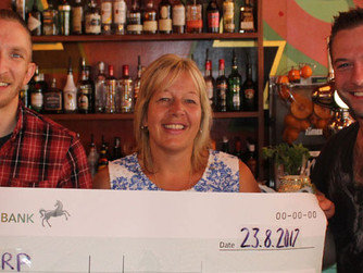 Molo Lounge raises over £1000 for homeless people!