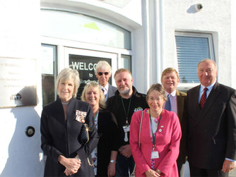 Lord Lieutenant of Essex visits HARP