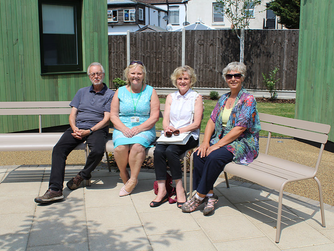 New garden benches will provide tranquil space away from the streets for those overcoming homelessne