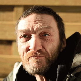 Homeless man helped by HARP Southend