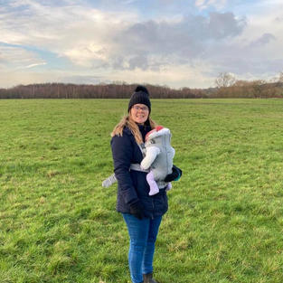 Walking with baby - Nina from Southend