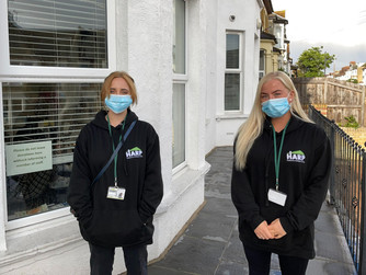 A Day In The Life Of Outreach Workers Gracie & Keziah