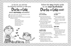 Charlie and Lola Activity Kit Welcome Page