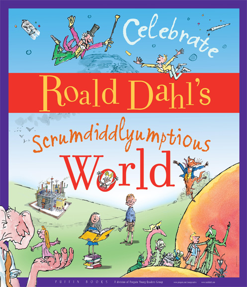 Event Kit - Roald Dahl Birthday Poster