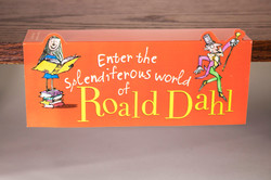 Event Kit - Roald Dahl Birthday Shelf Talker