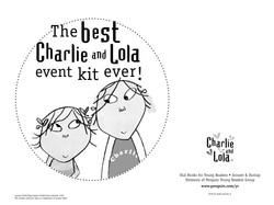 Charlie and Lola Event Kit Envelope