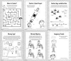 Charlie and Lola  Activity Poster Back