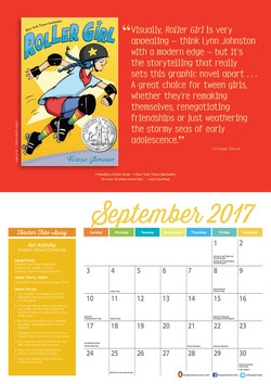 Penguin Young Readers Calendar 2017