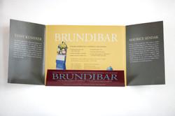 Marketing Folder- Brundibar inside