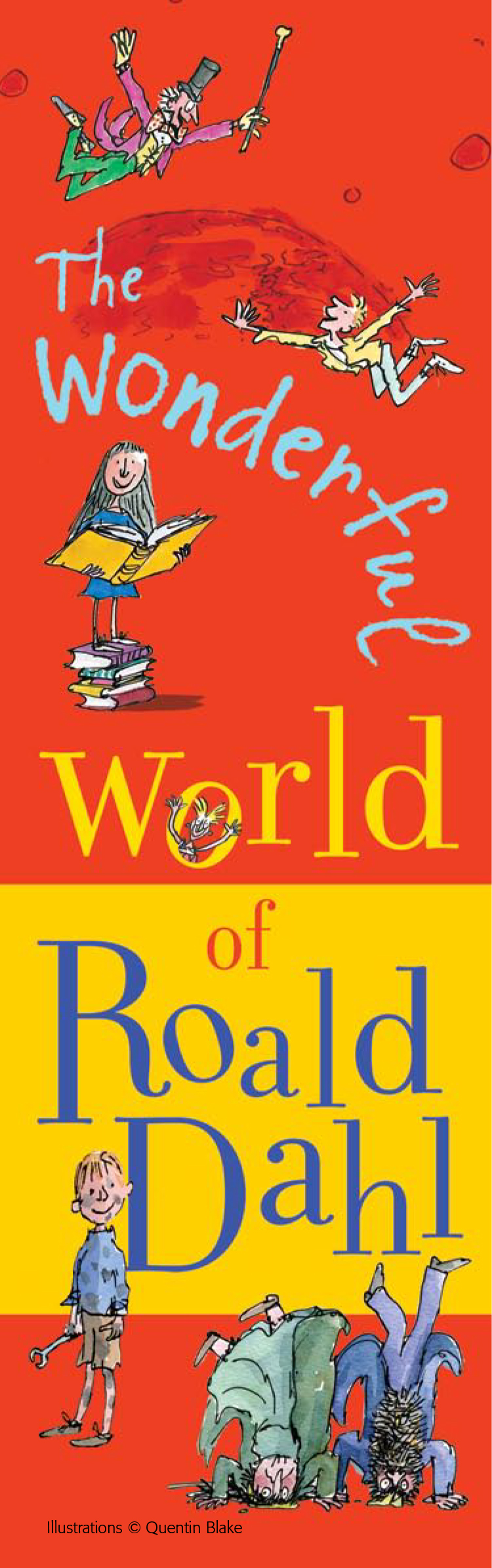 Event Kit - Roald Dahl Birthday Bookmark
