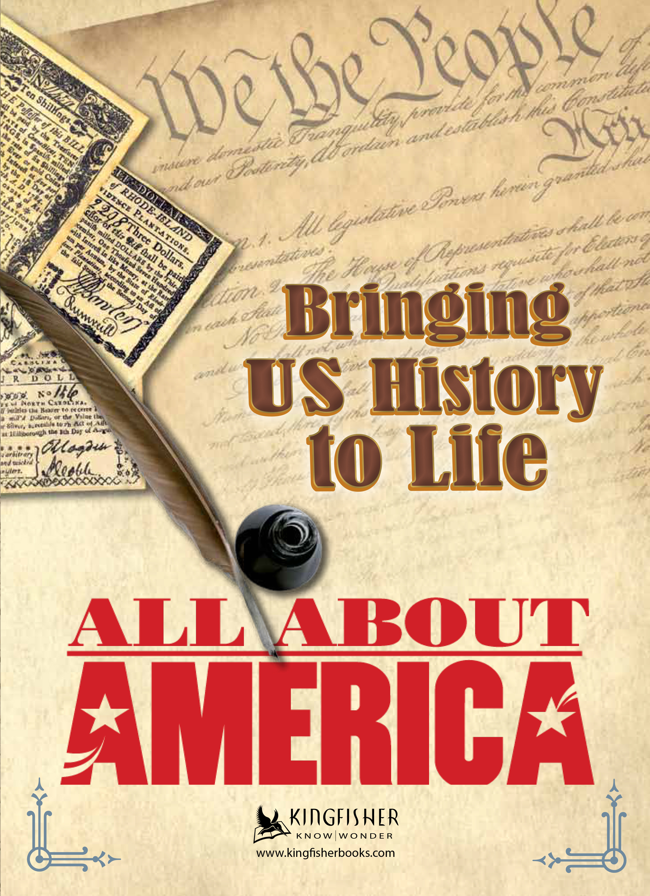 Brochure - All About America Front Cover