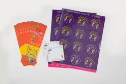 Event Kit - Roald Dahl Birthday Stickers