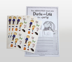 Charlie and Lola  Stickers