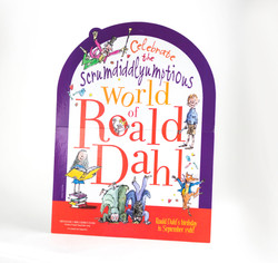 Event Kit - Roald Dahl Birthday Standee