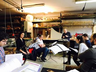 Paris rehearsal at Atelier von Nagel
