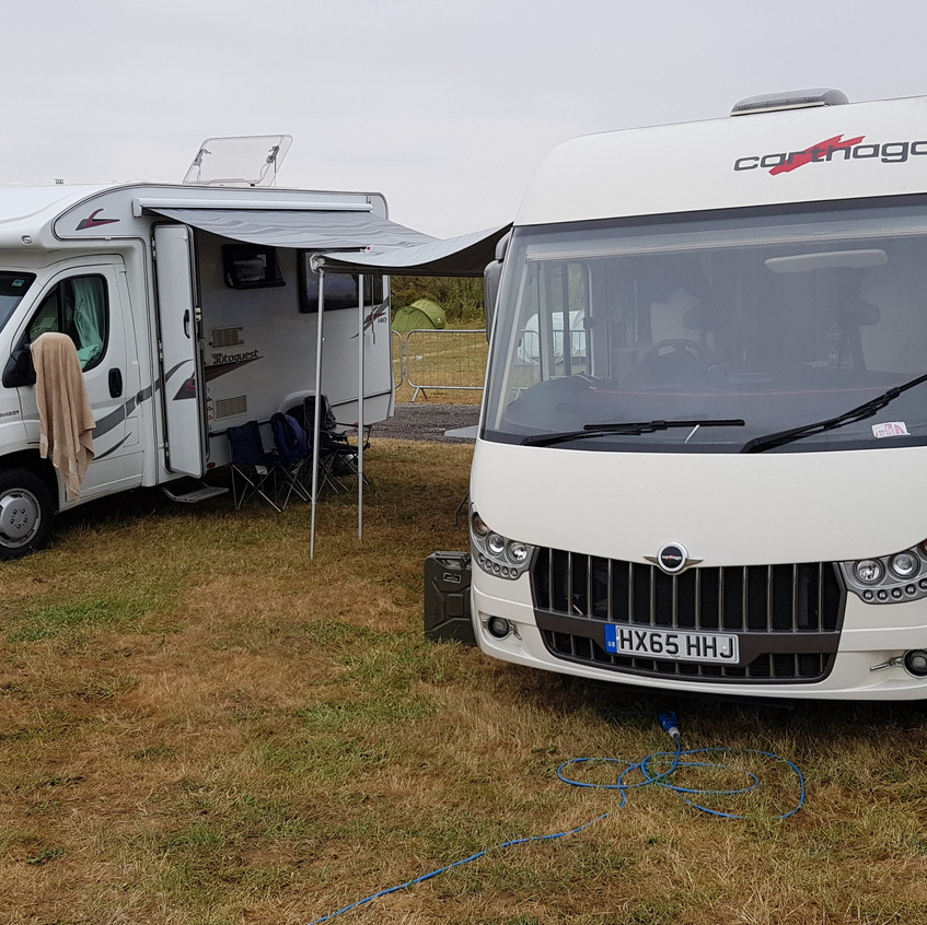 Our abode at Silverstone