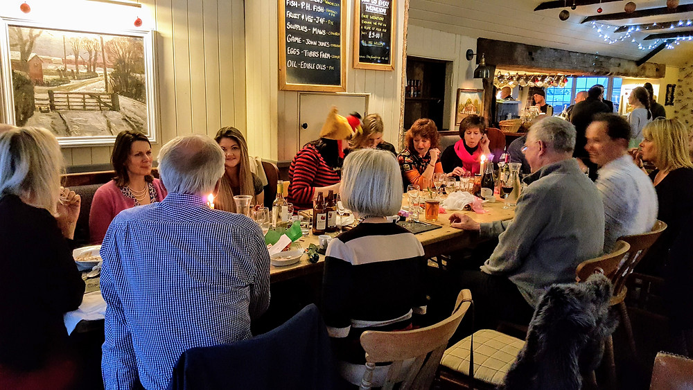 Office Christmas lunch at The Plough