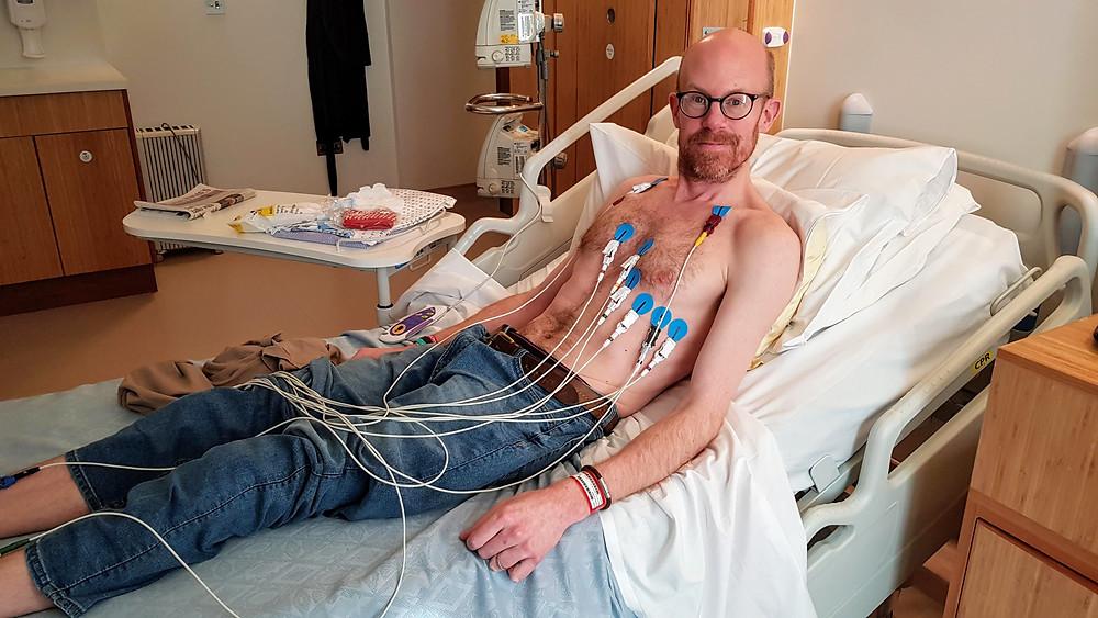 Pre-surgery ECG
