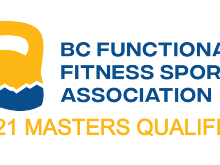 2021 Canadian Masters World Championship Qualifier Workouts