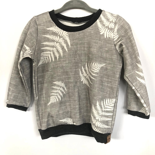 Long sleeve pullover 'soft fern' (9-12 mths only)