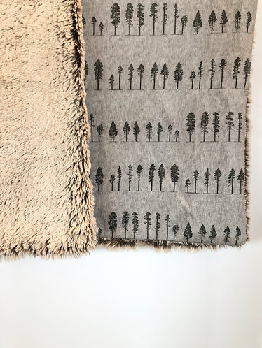 Baby blanket 'A noble stand'
