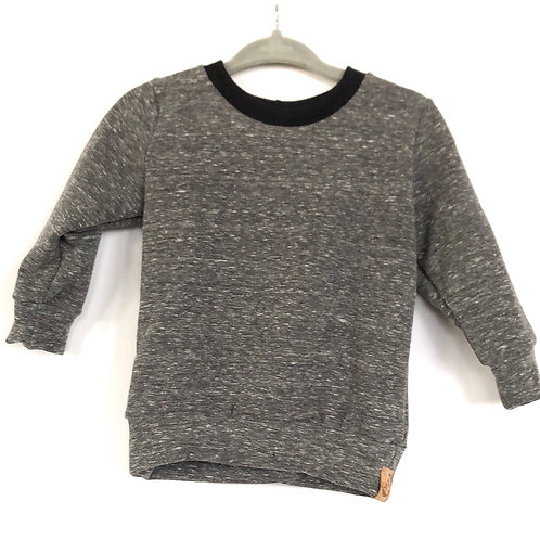 Fall/winter crewneck sweater 'heathered charcoal'