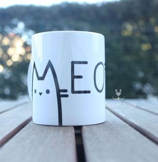 """Caneca """"MEOW"""" €8.50"""