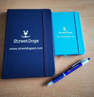 Caderno A4 Azul €5.00