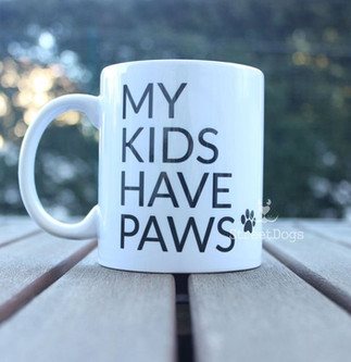 """Caneca """"MY KIDS HAVE PANS"""" €8.50"""