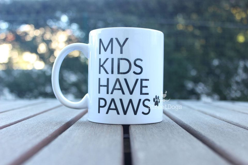 "Caneca ""MY KIDS HAVE PANS"" €8.50"