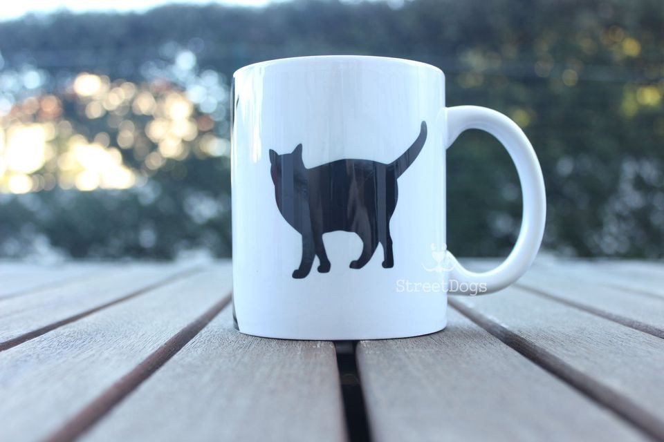 "Caneca ""MOTHER OF CATS"" €8.50"