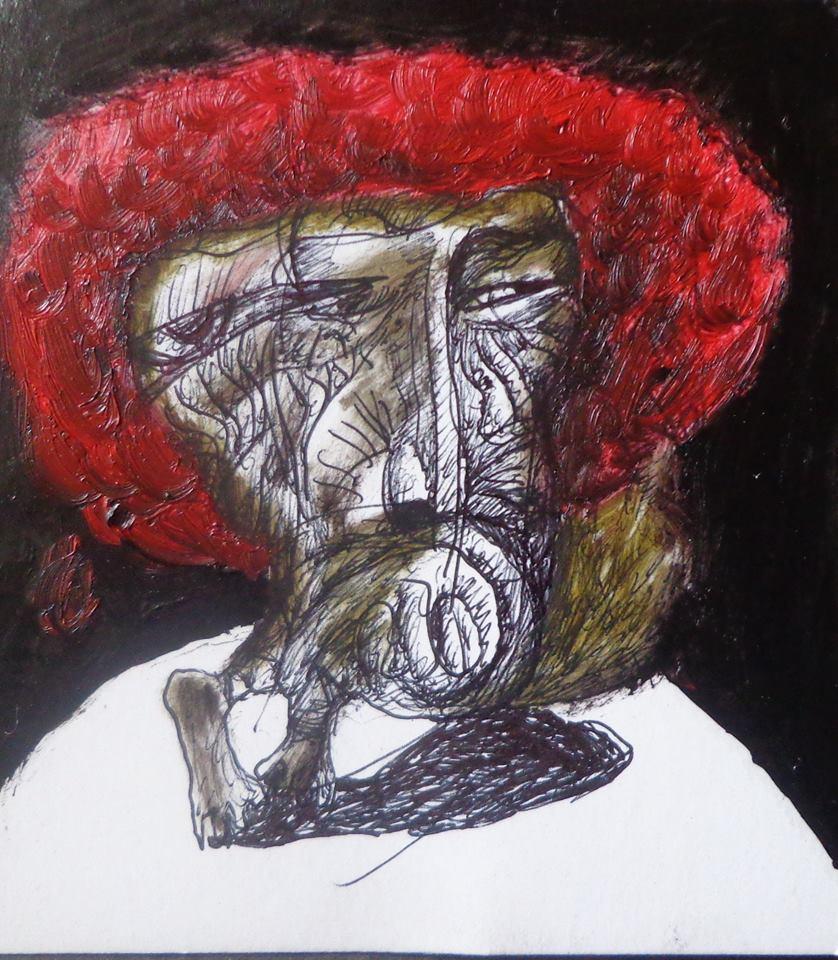 Красный Шогирме (картон.масло)2015.jpg