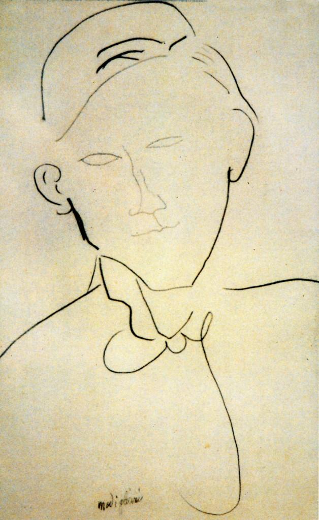 MODIGLIANI Portrait de Gabriel Fournier-FOURNIER.Col.part (628x1024).jpg
