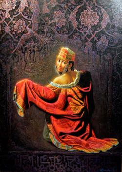 Алишер Аликулов. Невеста из Бухары. 2012. х.м., 89х63