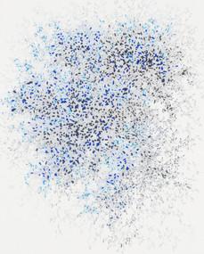 Starfield-1715, 2017, Thread on hanji, 7