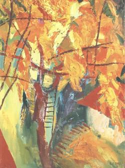 Виноградник 1 90х60 х.м. 2002