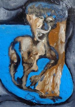 Старик в ожиданий моря (масло)2015.г.jpg
