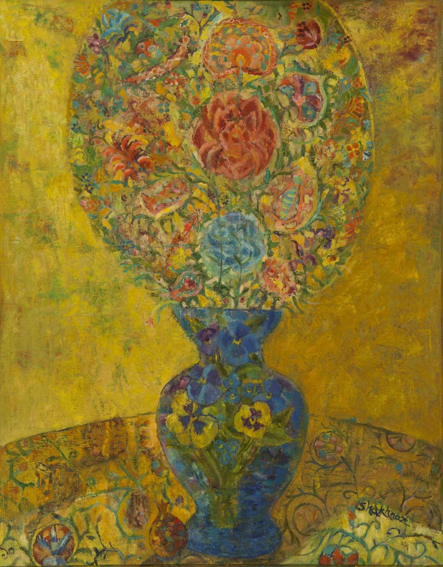 116.Дары. Цветы 66х93 х. м. 2009.jpg