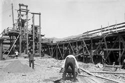 Бетономешалка на Базарсае.1936.jpg