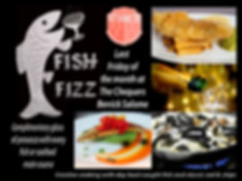 Fish and fizz fridays at The Chequers Inn
