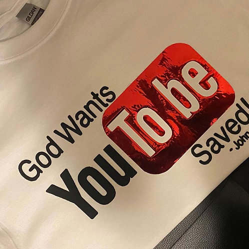 God Wants You To Be Saved
