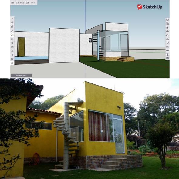 Projeto em 3D - SkecthUp