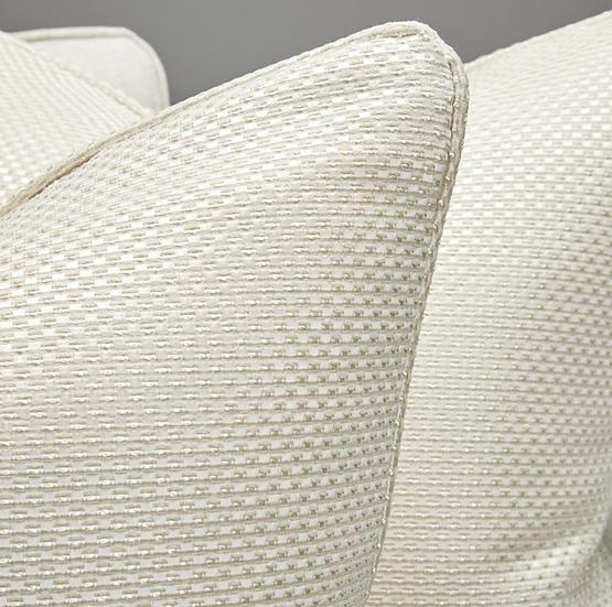 White Shimmer Scatter Cushion