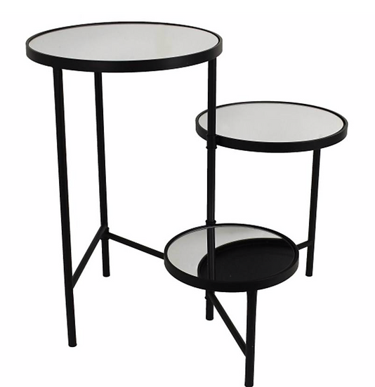LB Black Trio SideTable