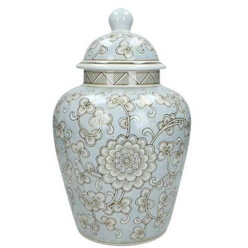 Duck Egg Bell Jar with lid