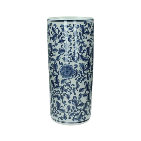 Porcelain Blue White Umbrella Stand